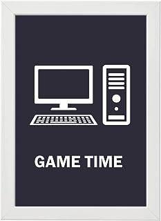Gaming Wall Frame Photo, 30-20 cm, White