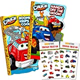 Tonka Trucks Board Book Set for Kids Toddlers (Set of 2 Tonka Trucks Board Books with Bonus Crenstone Cars and Trucks Stickers)