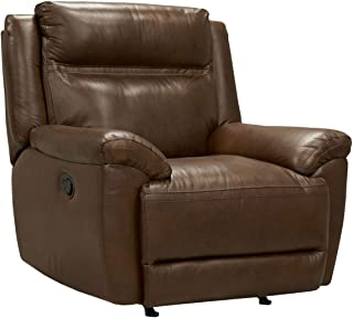 Standard Furniture 4029982 Wyatt Recliner with Manual Motion in Leather