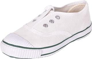 BATA Boys White Liam School Shoes