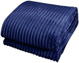 Home Textiles,79x90in Flannel Blanket Soft Warm Cozy Bed Blanket Plush Sofa Throw Blanket 200 * 230cm Pure Color Cloud Mink Fleece Fleece Blanket Flannel Blanket Navy Blue