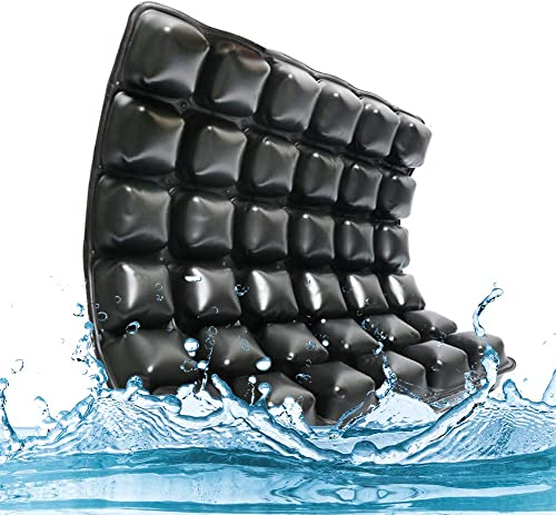 WANGXN Sitzkissen aufblasbar für Relieving Back, Sciatica, Tailbone Schmerzkissen für Bettsoren