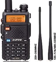 BaoFeng BF-R3 Tri-Band 136-174/220-260/400-520 MHz Amateur Portable Hamster CB Radio Comunicador Transmitter Two Way Radio