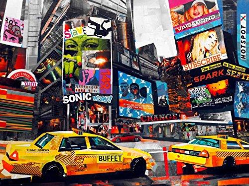 Feeling at home Kunstdruck-auf-Papier-cm_99_X_132-Grey-James-Landschaft-Bild-Poster-Zeitgenössische-Landschaften-Bundesstaat-New-York-USA-Stadtlandschaften-New-York-City