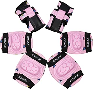 High Bounce Pink, Kids//Child Pad Set Knee Elbow and wrist