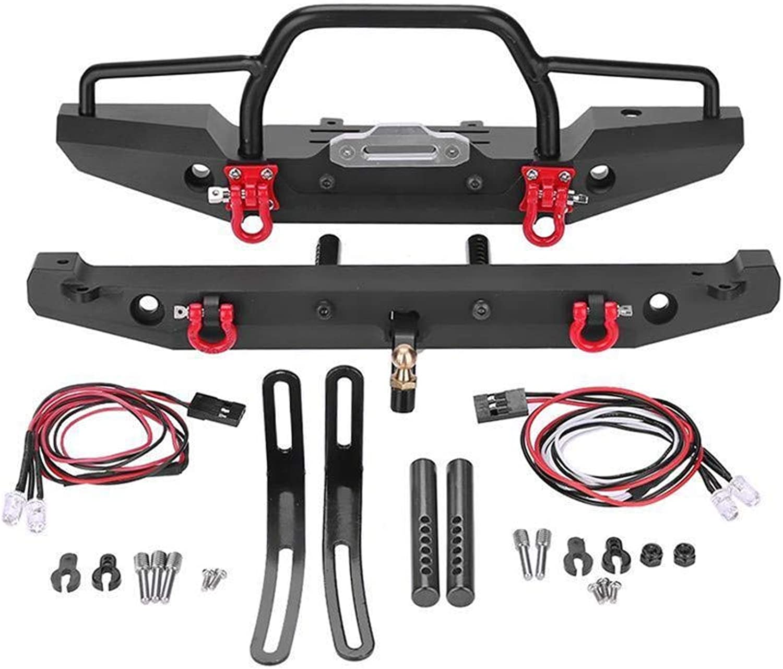 VIDOO Metal Front Rear Bumper Predector Part For 1 10 Rc Crawler Car Traxxas Trx4 Scx10Ii 90046