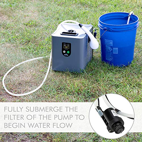 Hike Crew Portable Propane Water Heater & Shower Pump – Compact Outdoor Cleaning & Showering...