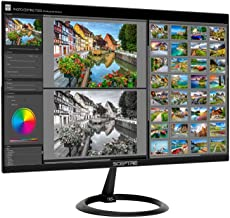 "Sceptre 25"" 165Hz 144Hz 1ms Pro Slim LED Monitor AMD Freesync 2X HDMI 1X DisplayPort Build-In Speakers, Metal Black 2019 (E258B-1658A)"