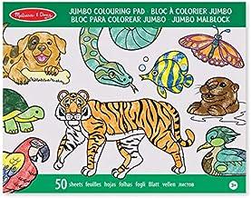 Melissa & Doug Bloc Extragrande de Colorear con Animales