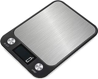 GPISEN Báscula Digitales de Precisión,15kg 8.9 * 6.5 Inch Balanzas de Portátiles,Báscula de Joyería,con Pantalla LCD y 7 U...