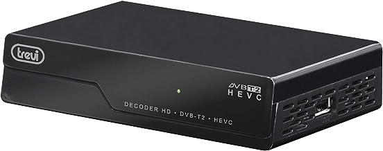 Trevi HE 3375 TS Decoder Digitale Terrestre HD DVBT/T2/HEVC 10 Bit, Codec H.265