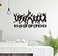 Office Wall Art Decal Teamwork Business Success Work Idea Inspiration Quote Office Decor Motivation Vinyl Sticker Wallpaper 73x42cm
