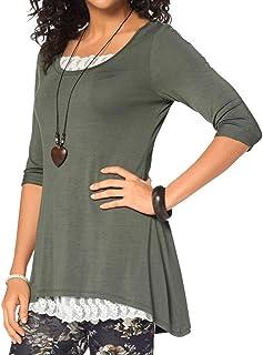 7e68458de Amazon.es: OverDose - Camisetas, tops y blusas / Mujer: Ropa