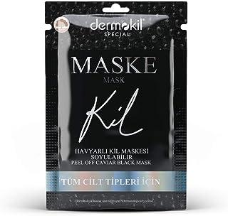 Dermokil Havyarlı Siyah Kil Maskesi - Soyulabi'lir 1 Paket