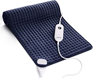 Homech Heating Pad for Back Pain and Cramps - XXX-Large [33 x 17 Inch] Ultra-Soft Heat Pad with Dry & Moist Heat Therapy, ...