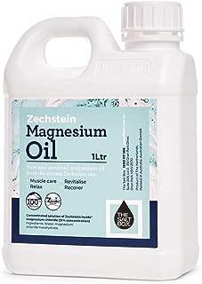 The Salt Box 100% Natural Zechstein Magnesium Oil 1L Value Pure Unrefined Magnesium Supplement - Australian Owned
