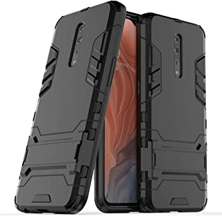 Oppo Reno Z Hybrid Case, Oppo Reno Z Shockproof Case, Dual Layer Protection Hybrid Rugged Case Hard Shell Cover with Kickstand for 6.4'' Oppo Reno Z