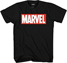 Marvel Men's Comics Simple Classic Logo T-Shirt