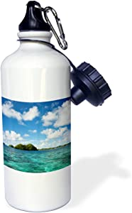 3dRose Rock Islands of Palau, Micronesia UNESCO World Heritage Site. -Sports Water Bottle, 21oz , Multicolored