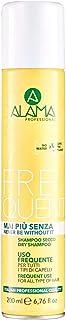 Alama Professional Daily Mai più - Shampoo a secco senza secco, con vitamine, per tutti i tipi di capelli, 200 ml