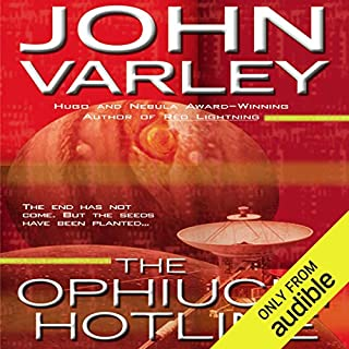 The Ophiuchi Hotline  audiobook cover art
