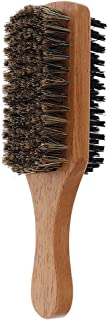 Flameer Boar Bristle Hair Brush for Women and Men - Natural Wooden Flat Square Paddle Hairbrush - For Thick/Fine/Thin/Wavy...