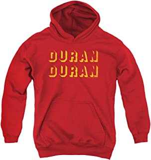 Duran Duran Negative Space Unisex Youth Pull-Over Hoodie For Boys and Girls
