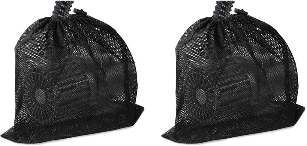 UYT Arlington Mall 45cm Black 2pcs Portland Mall Water Mesh Filter Bag f Pump
