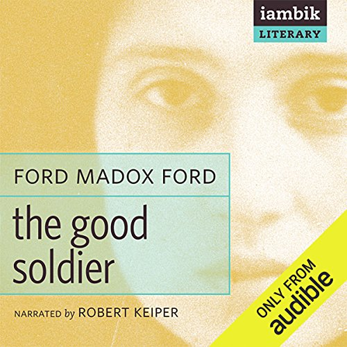 The Good Soldier audiobook cover art