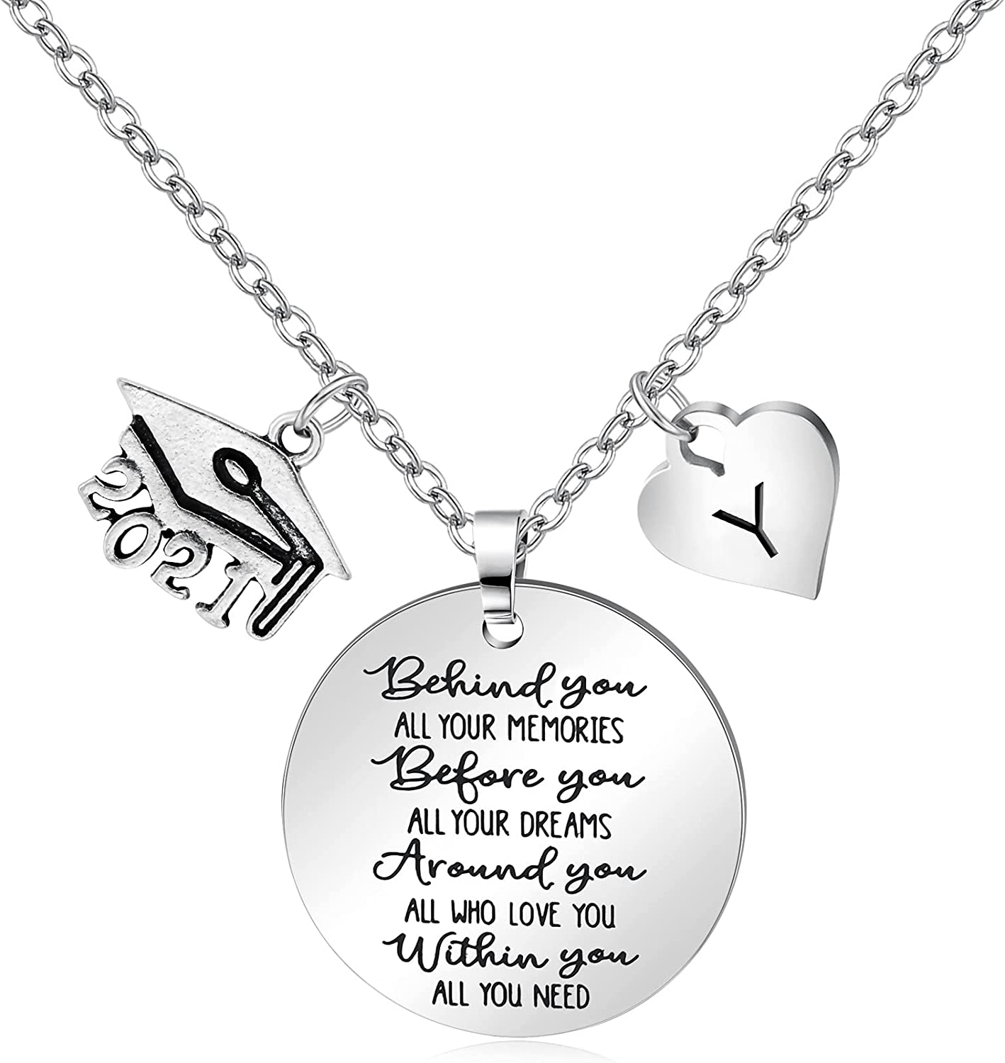 Inspirational Necklace Super Special SALE held Graduation Gifts for Cheap mail order sales of 2 Women Her Class
