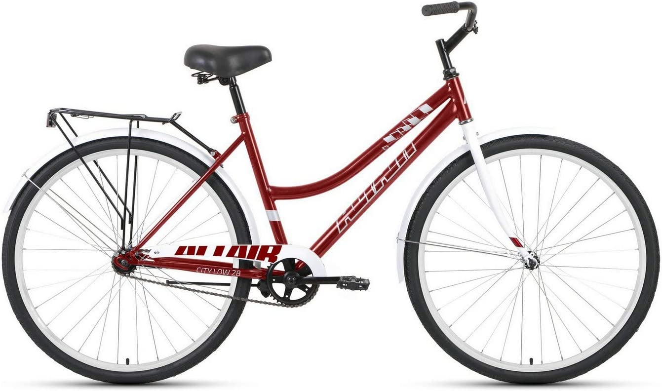 Bike ALTAIR City 28 Low 2021 red Colour Dark Size 19 White New Orleans Mall Oklahoma Mall