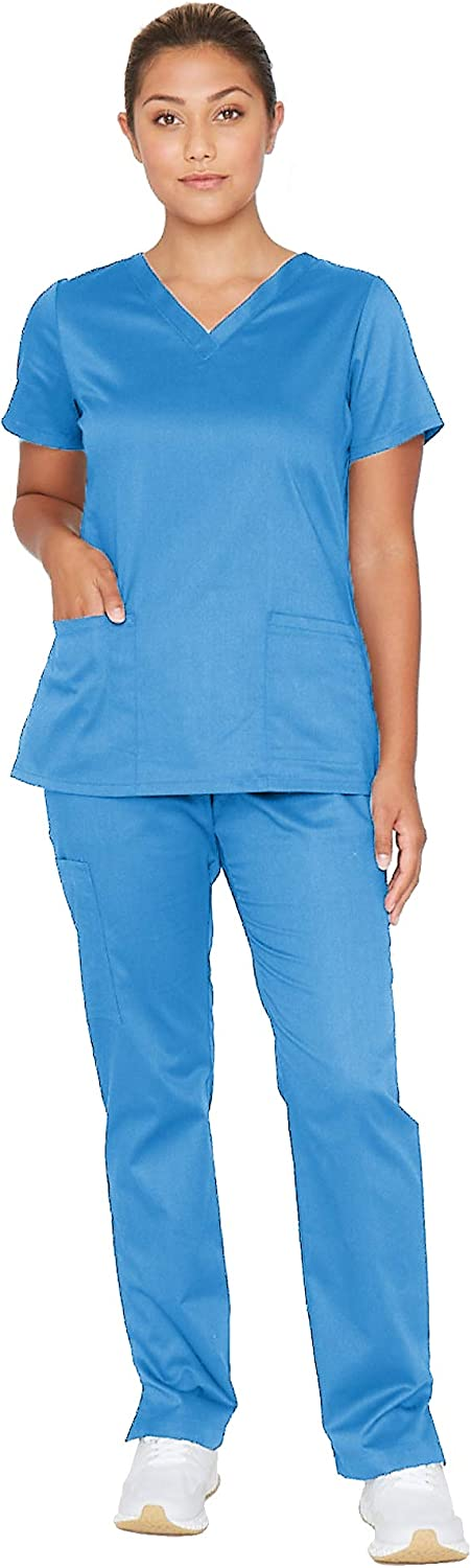 BARCO Essentials Unison Women's Scrub Max 78% OFF Challenge the lowest price of Japan Set Care Top – Easy Pant