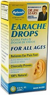 Hyland Adult/Child Earache Drops, 0.33 Ounce - 3 per case.