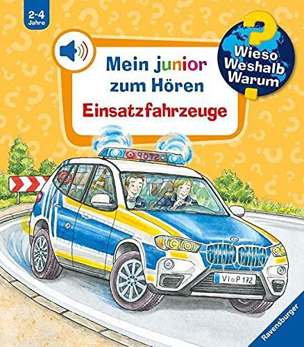 Wieso? Weshalb? Warum? Mein junior zum Hören: Einsatzfahrzeuge - Band 2 (Wieso? Weshalb? Warum? Mein junior zum Hören (Soundbuch), 2)