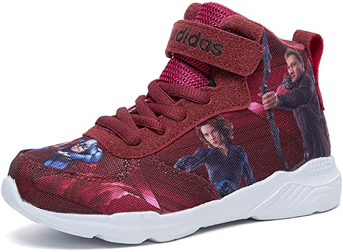 Iron Man YEMAO Enfants Gar/çons Cartoon Avengers High Top Sneakers Captain America Hulk
