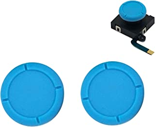 BRHE Replacement Thumb Grip Caps for Nintendo Switch Original 3D Analog Stick and Nintendo Switch Lite Joy Con Joystick Si...