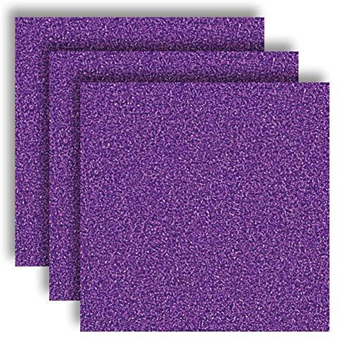 MarpaJansen 566.595-63 Vivelle - Velour-ähnliches Papier - ungummiert - (35 x 50 cm, 10 Bogen, 130 g/m²) - violett, Mehrfarbig, One Size