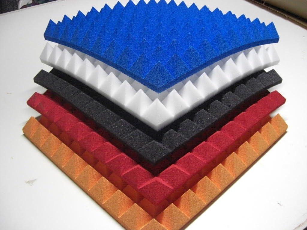 ANGEBOT mail2mail 10stk Pyramiden schaumstoff Akustik Selbstkleber ca.100x50x5cm