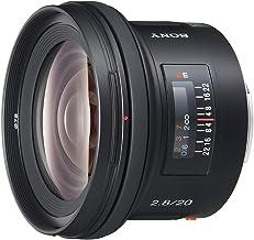 Sony SAL-20F28 20mm f/2.8 Wide Angle Lens for Sony Alpha Digital SLR Camera