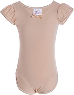 Dancina Flutter Short Sleeve Leotard for Girls