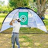 HWLY - Red de entrenamiento de golf para interior del patio trasero con bolsa de transporte, Versión estándar.