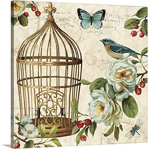 Free as a Bird II Canvas Wall Art Print, 24'x24'x1.25'