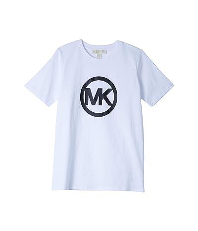 MICHAEL Michael Kors Circle Logo Tee (White) Women