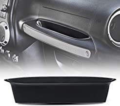 Xprite Passenger Side Grab Handle Storage Tray Organizer for 2011-2018 Jeep Wrangler JK/JKU Rubicon Sahara Sport