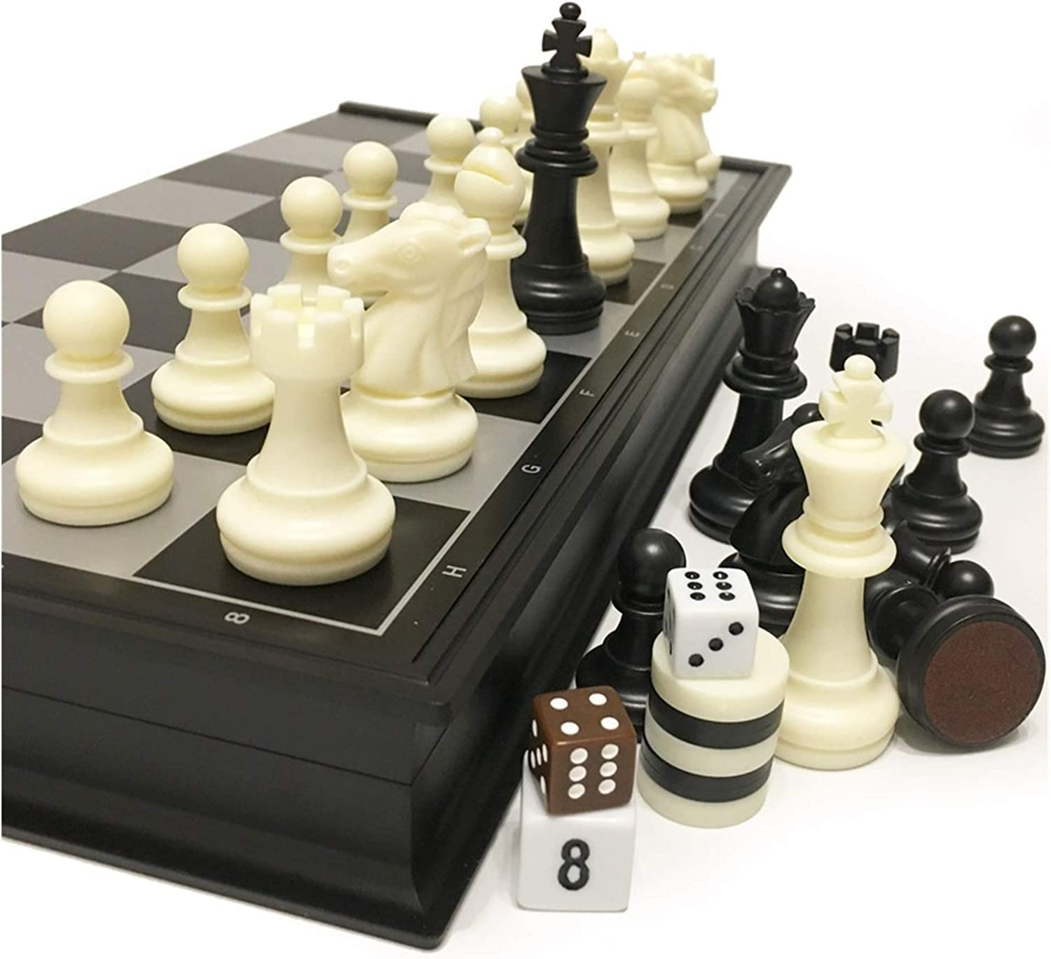 ZZ ZH Chess and Checkers Backgammon Limited time trial price Che 1 Bombing new work 3 Plastic in