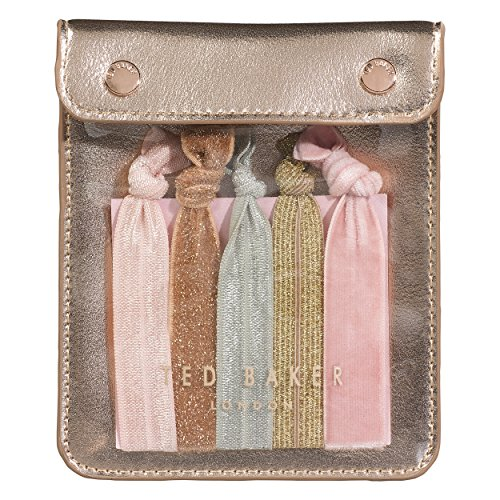 Ted Baker | Five Elasticated Hair Ribbons | Come in a Pouch