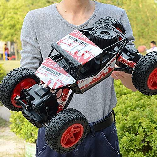 LQZCXMF Coche De Control Remoto Súper Grande De 2.4Ghz Deriva De Alta Velocidad RC Buggy4WD Coche De Escalada Resistente A Caídas Juguete para Niños Regalo De Año Nuevo Cumpleaños