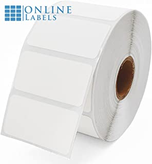 2 x 1 Labels for Thermal Transfer Printers - 1,375 Labels, 1 Roll - Online Labels