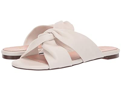 J.Crew Knotted Soft Leather Sandal (Ivory) Women