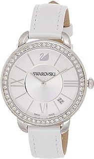 Swarovski Women's Quartz Watch, Analog Display and Leather Strap 5095938